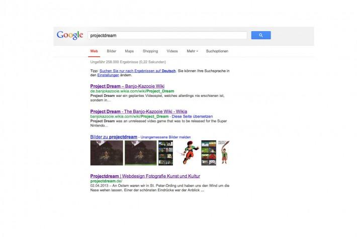 Project Dream auf Google
