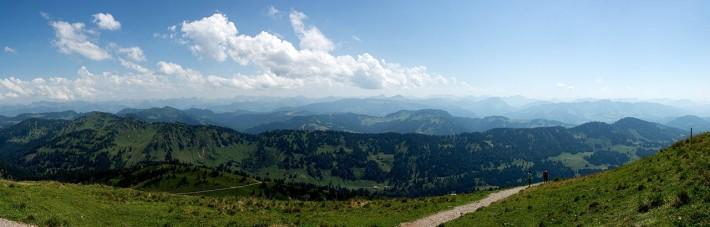 Alpenpanorama Hochgrat