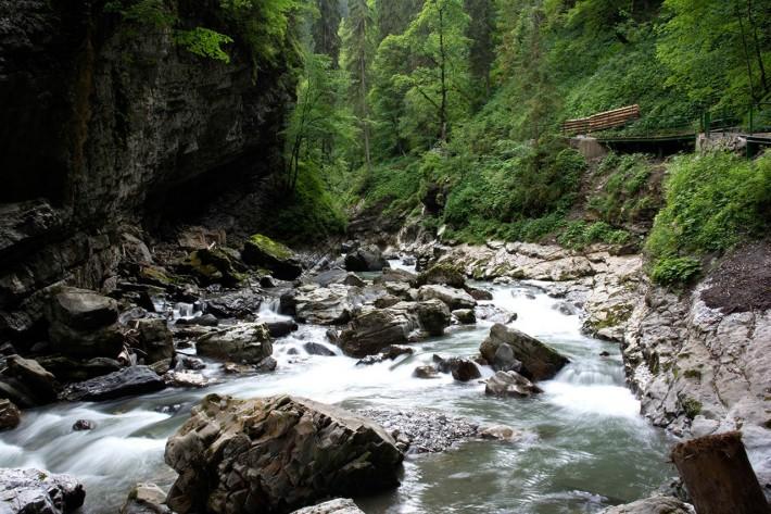 Breitachklamm - Wildes Wasser