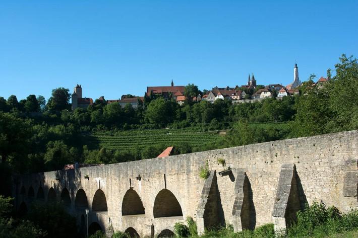 Tauberbrücke - Rothenburg ob der Tauber
