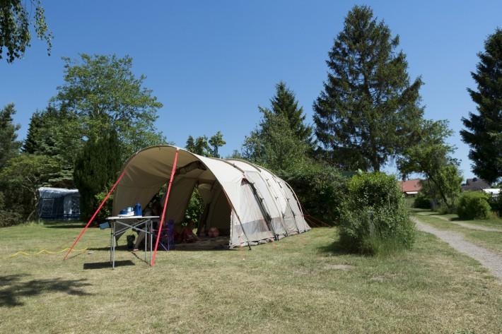 Zelten auf dem Heidehof in Radenbeck -  Zelt: Nomad Dogon 4 (+2) Air