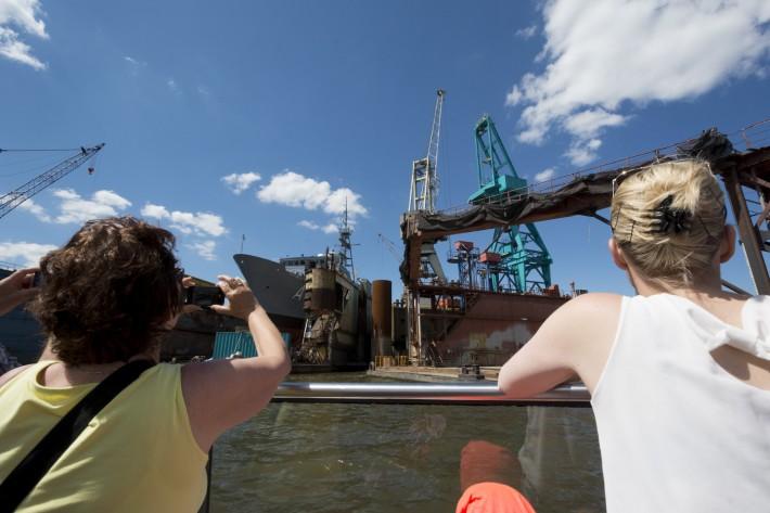 Hafenrundfahrt im Hamburger Hafen