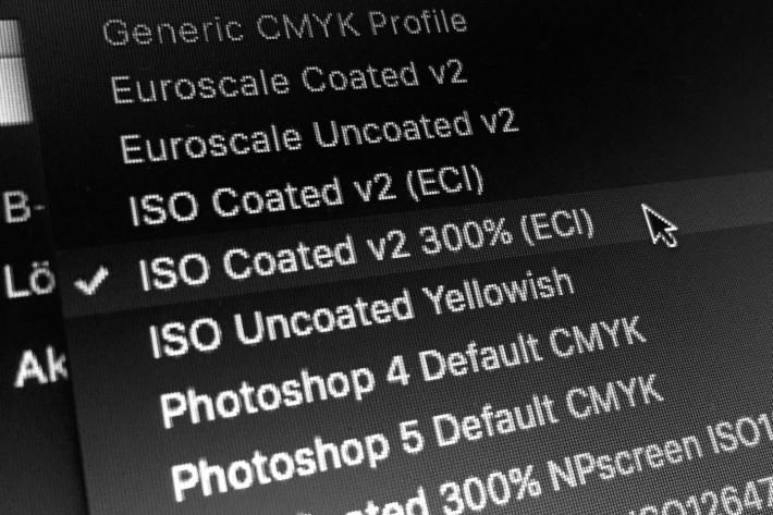 Farbprofil ISO Coated v2 (ECI)