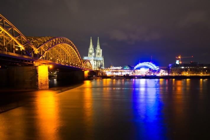 Hohenzollernbrücke - Kölner Dom - Hauptbahnhof - Musical