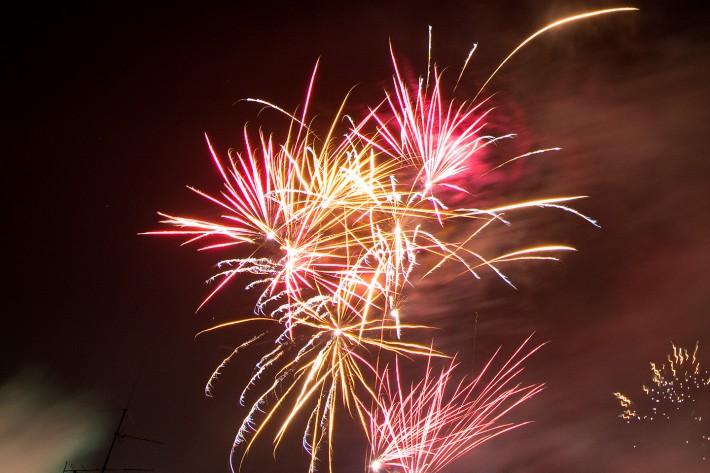 Silvester in Lohmar – Feuerwerk