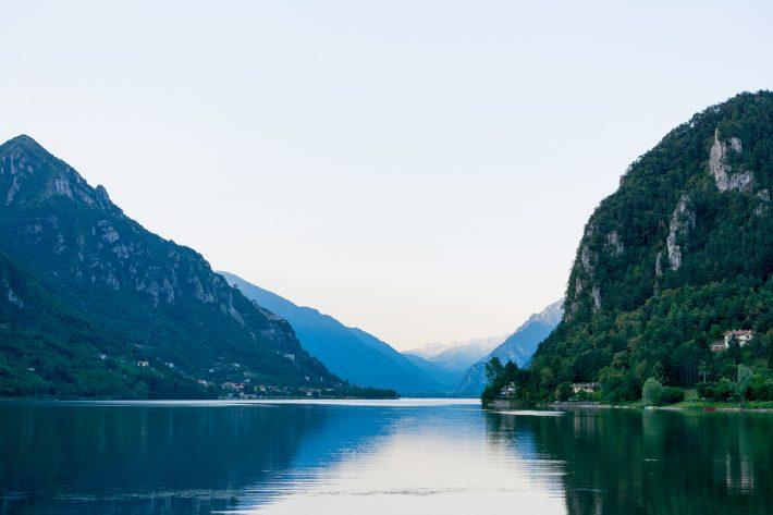 Der Idrosee in Italien