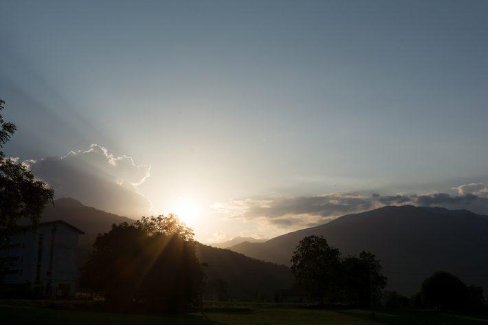 Der obligatorische Sonnenuntergang