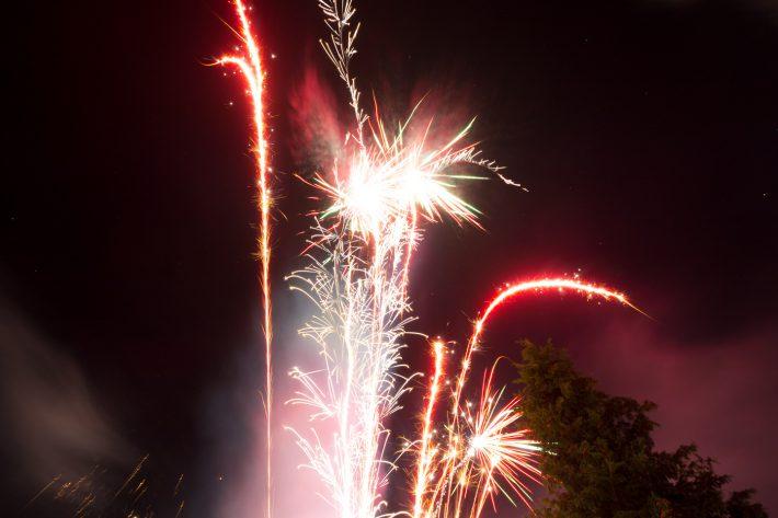 Feuerwerk - Frohes Neues - 2017